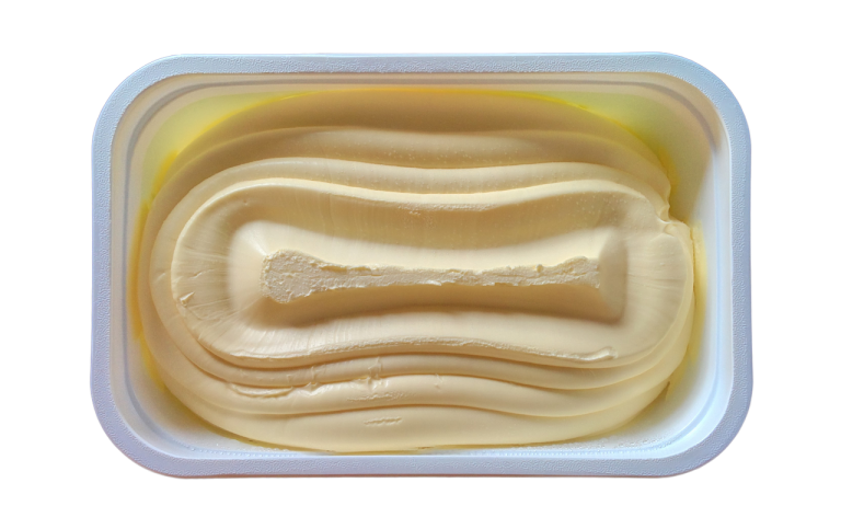 butter, tub, margarine